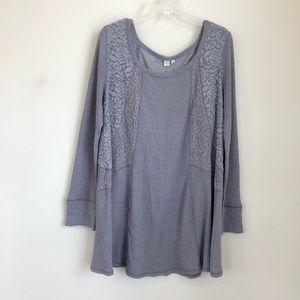 Anthropologie gwyneira Knit chemise nighty